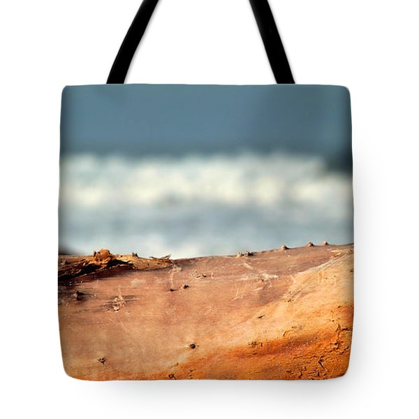 Drift Wood Tote Bag by Henrik Lehnerer