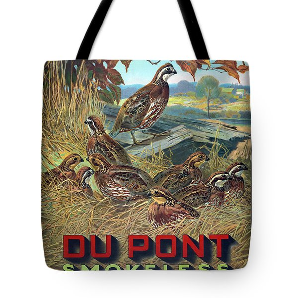 Du Pont Smokeless Tote Bag