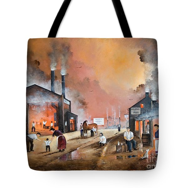 Dudleys By Gone Days Tote Bag