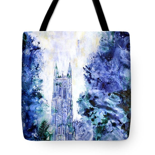 Duke Chapel Tote Bag by Ryan Fox
