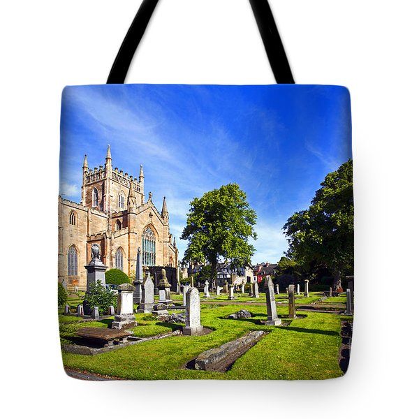 Dunfermline Abbey Scotland Tote Bag