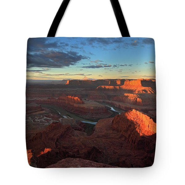 Early Morning At Dead Horse Point Tote Bag