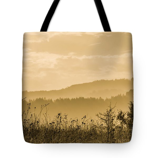 Early Morning Vitosha Mountain View Bulgaria Tote Bag