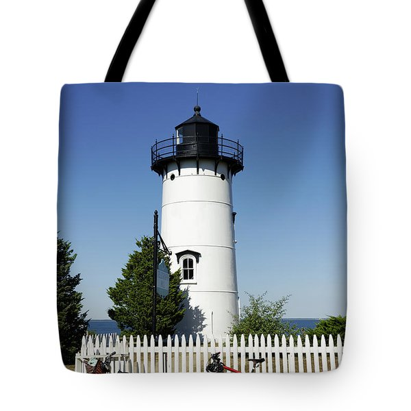 East Chop Lighthouse Tote Bag by John Greim