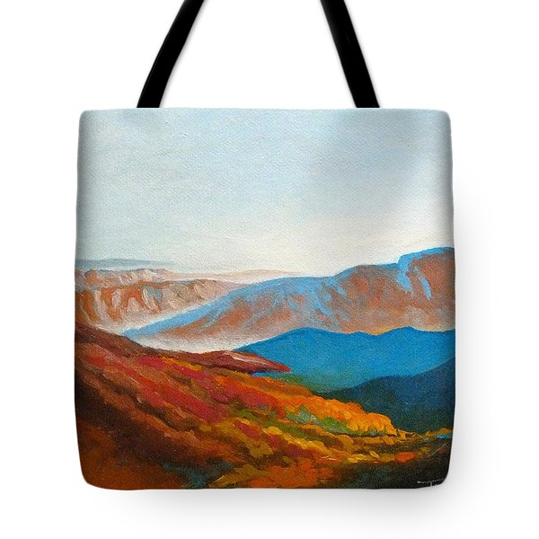 East Fall Blue Ridge Mountains 2 Tote Bag