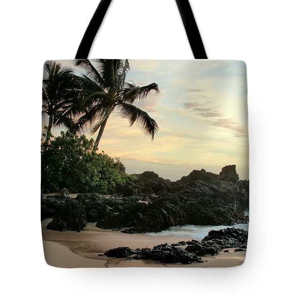 Edge Of The Sea Tote Bag