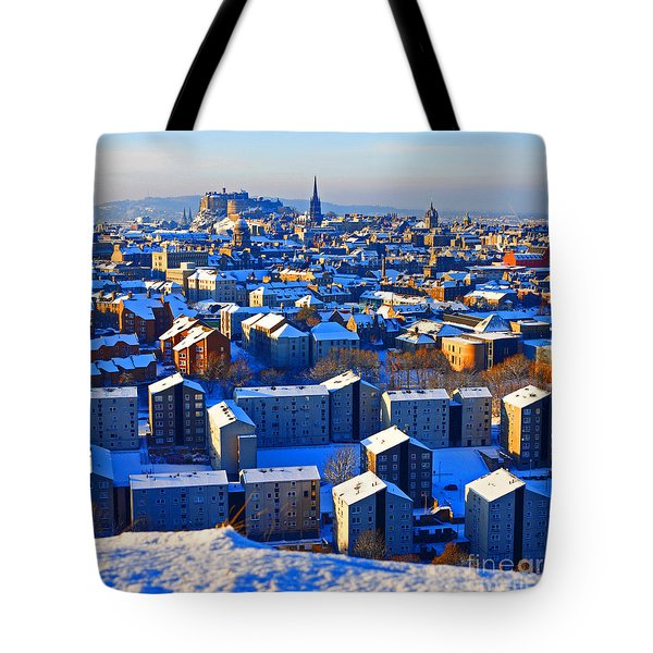 Edinburgh Winter Tote Bag