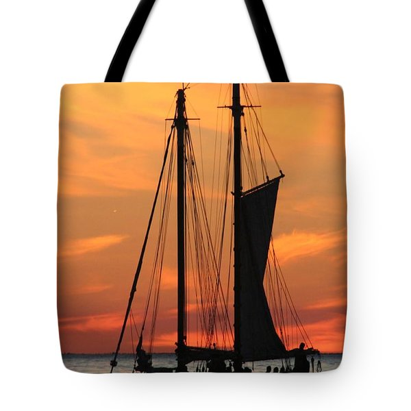 Edith M Becker At Sister Bay Marina Tote Bag