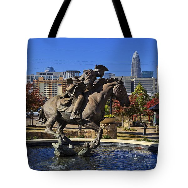 Elizabeth Park At Charlotte Tote Bag