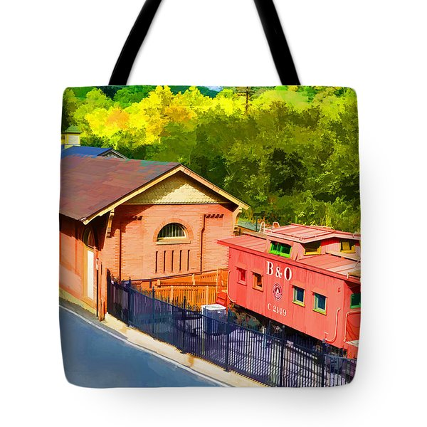 Ellicott City Station Tote Bag