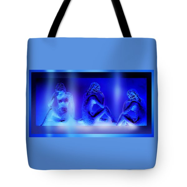 Tote Bag featuring the mixed media Elusive  Dream by Hartmut Jager