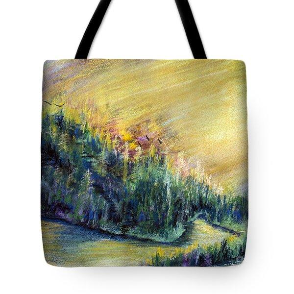 Enchanted Island Tote Bag