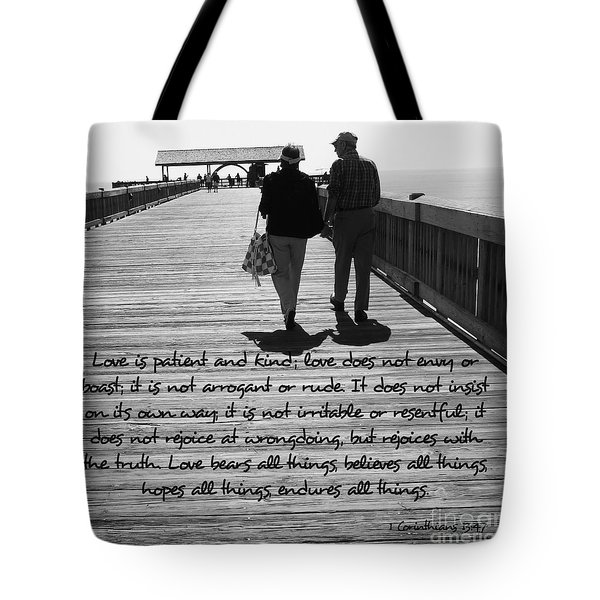 Endless Love  Tote Bag by Andrea Anderegg