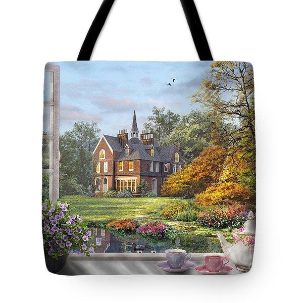 English Garden Tote Bag