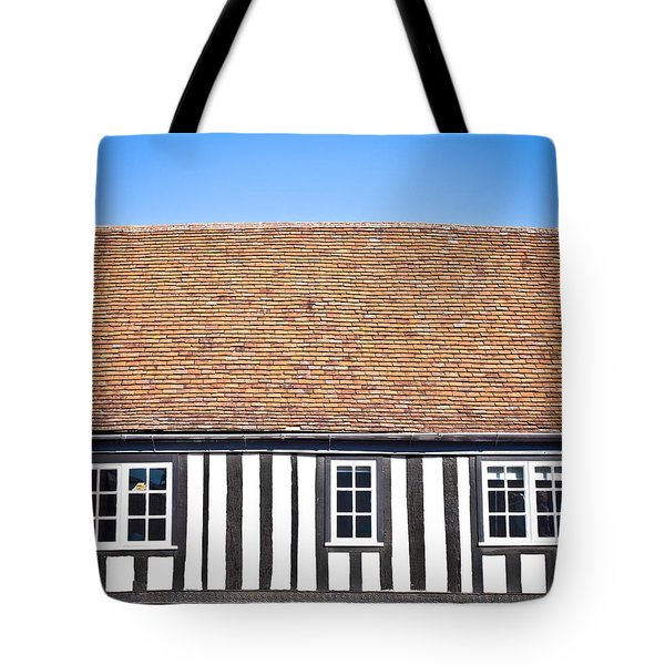 English House Tote Bag by Tom Gowanlock