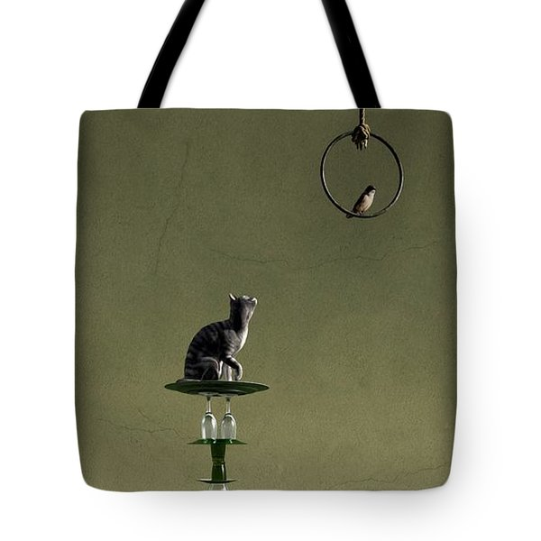 Equilibrium IIi Tote Bag by Cynthia Decker