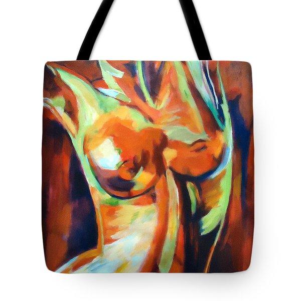 Exhilaration Tote Bag by Helena Wierzbicki