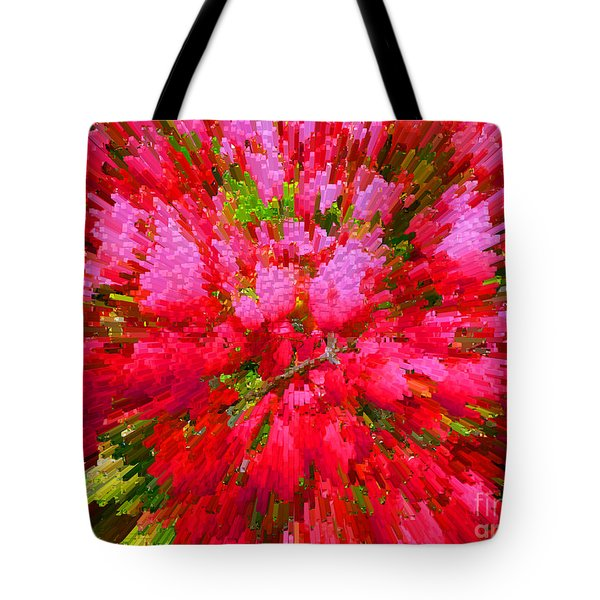 Explosion Of Spring Tote Bag