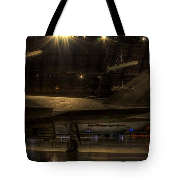 F-117 Stealth Fighter Tote Bag