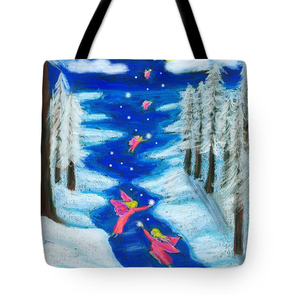 Faery Merry Christmas Tote Bag