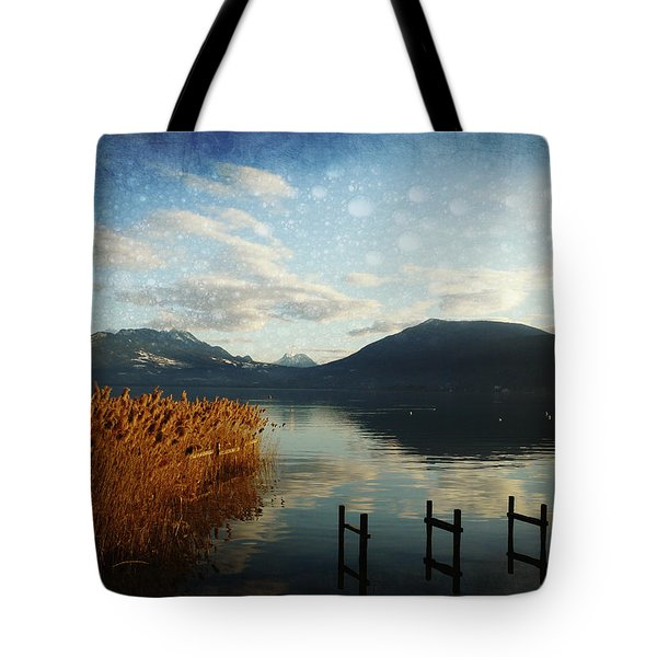 Tote Bag featuring the photograph Fairies Lake by Barbara Orenya