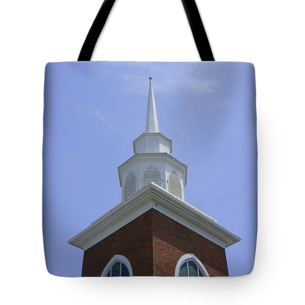 Faith Tote Bag by Laurie Perry