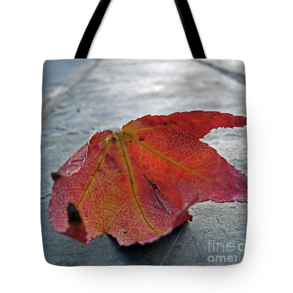 Fall Leaf Tote Bag