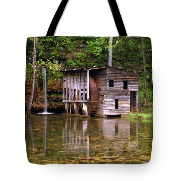 Falling Spring Mill  Tote Bag by Marty Koch
