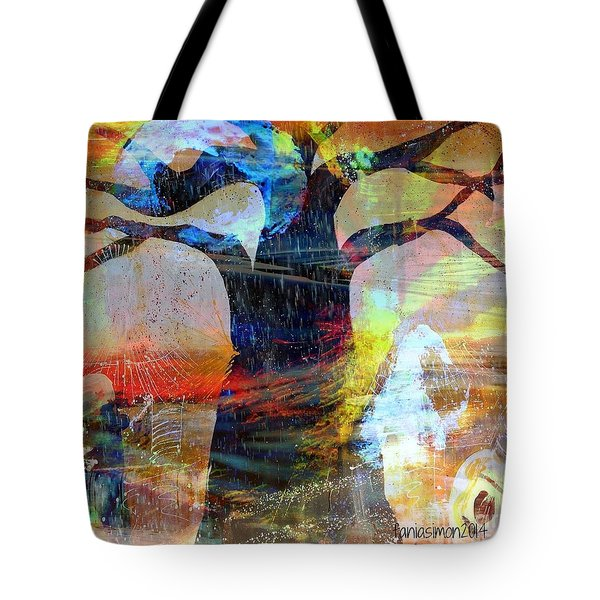 Family Connection Tote Bag