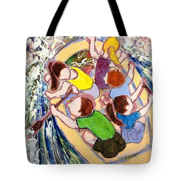 Family Vacation Tote Bag by Marilyn Jacobson