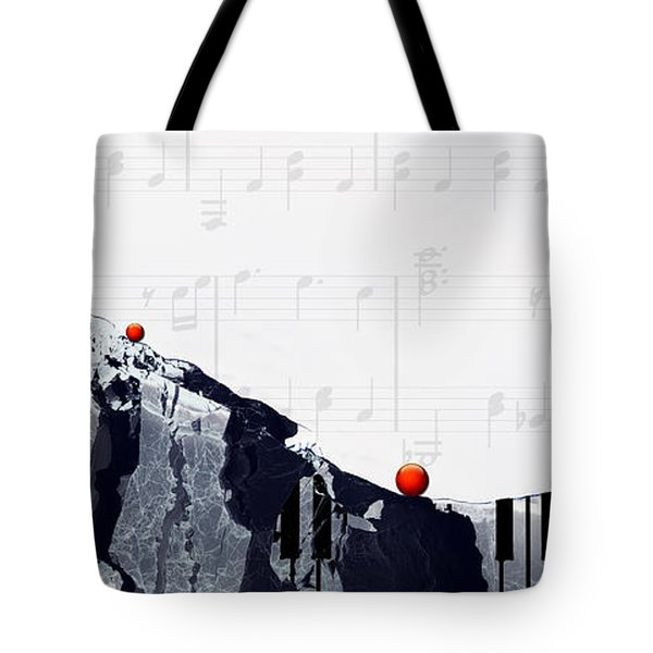 Fantasia - Piano Art By Sharon Cummings Tote Bag by Sharon Cummings