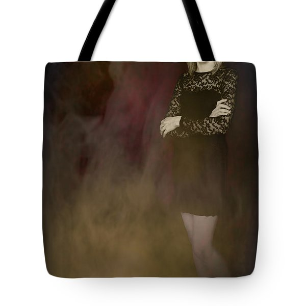 Fantasy Portrait Tote Bag by Amanda Elwell