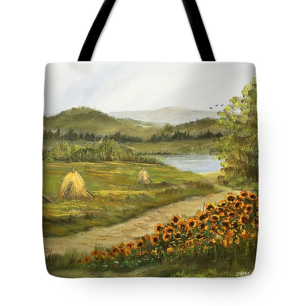 Farm Tote Bag by Dorothy Maier