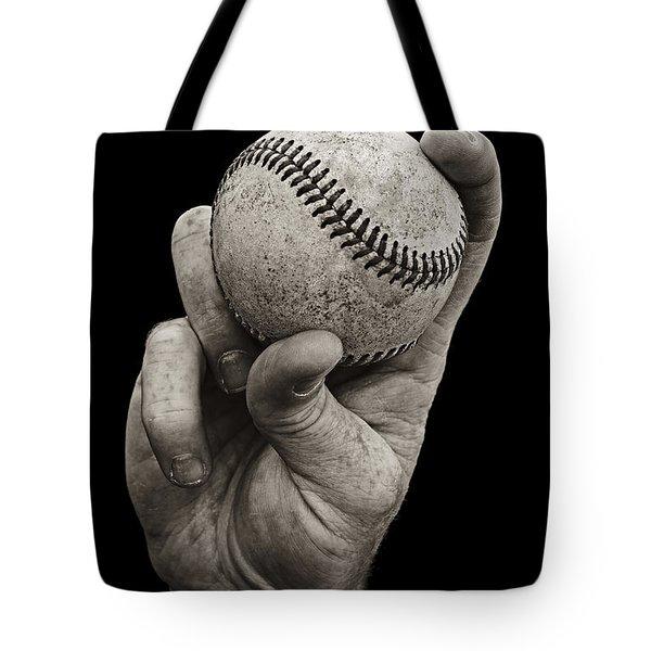 Fastball Tote Bag