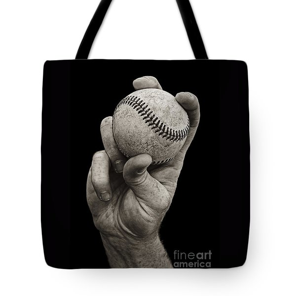 Fastball Tote Bag by Diane Diederich
