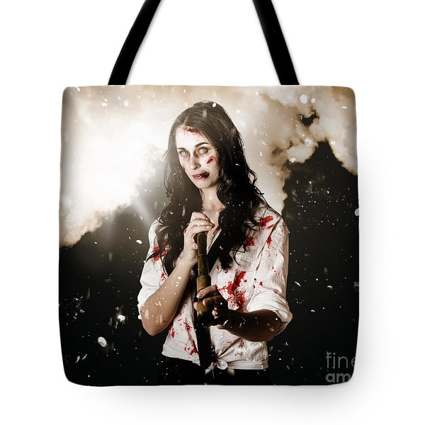 Fighting Spirit Tote Bag