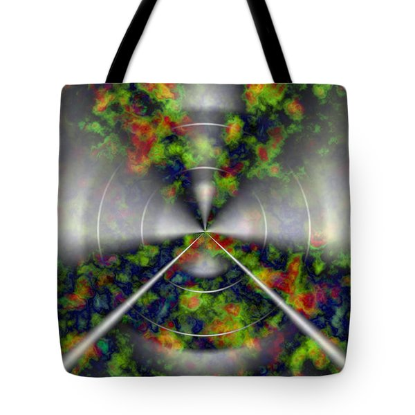 Fire Cloud Tote Bag by Christopher Gaston