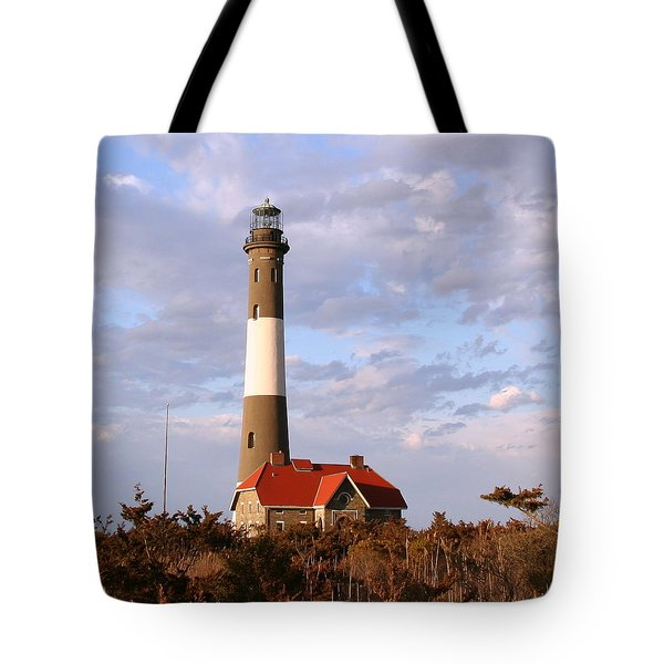 Fire Island Lighthouse Tote Bag