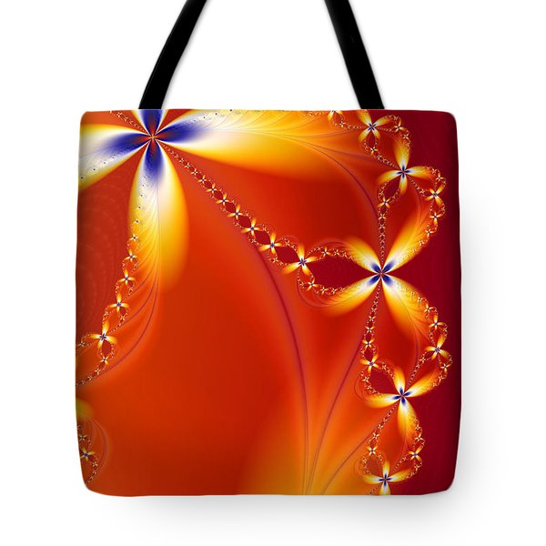Firefly Tote Bag by Lori Grimmett