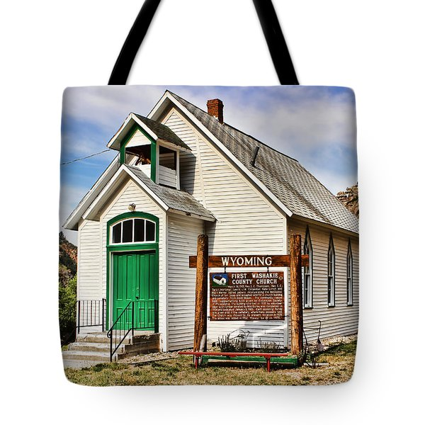 First Washakie County Church Tote Bag
