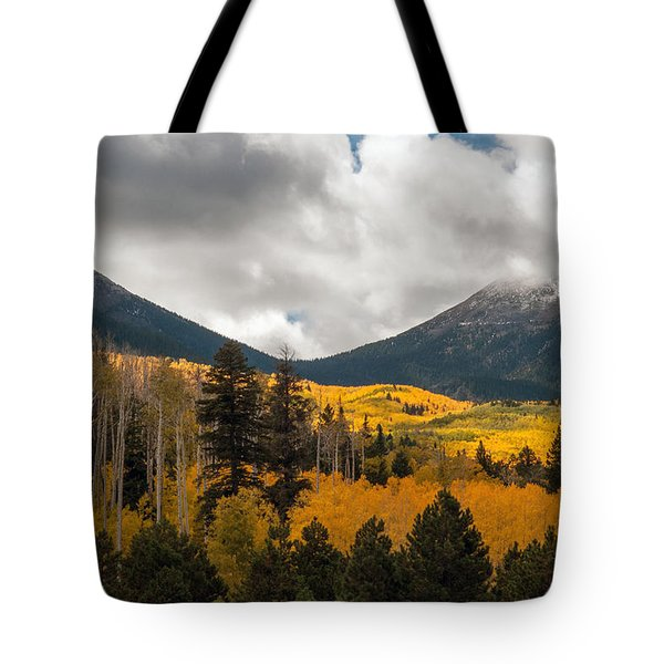 Flagstaff Fall Color Tote Bag