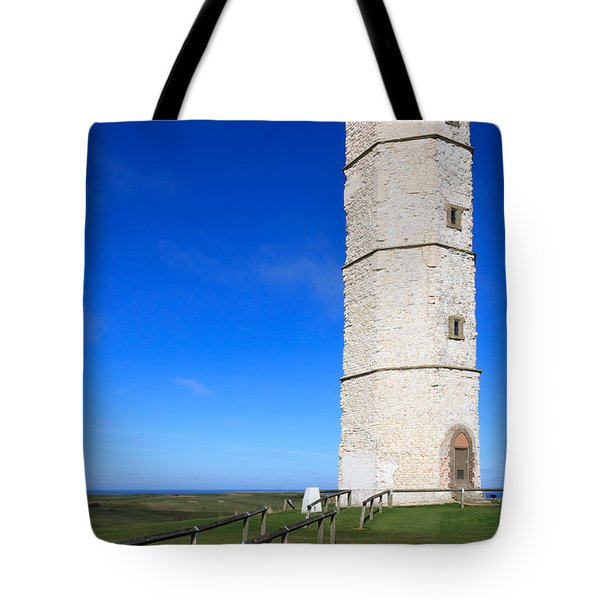 Flamborough Old Lighthouse Tote Bag