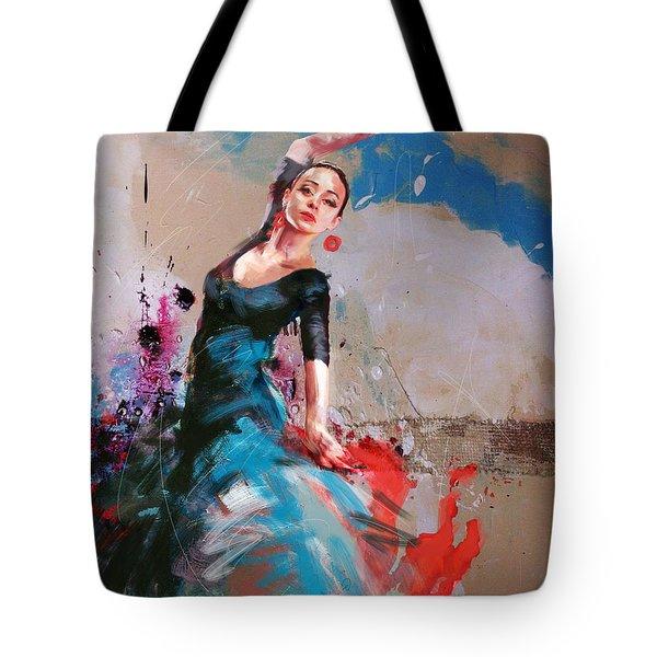 Flamenco 41 Tote Bag