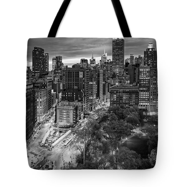 Flatiron District Birds Eye View Tote Bag