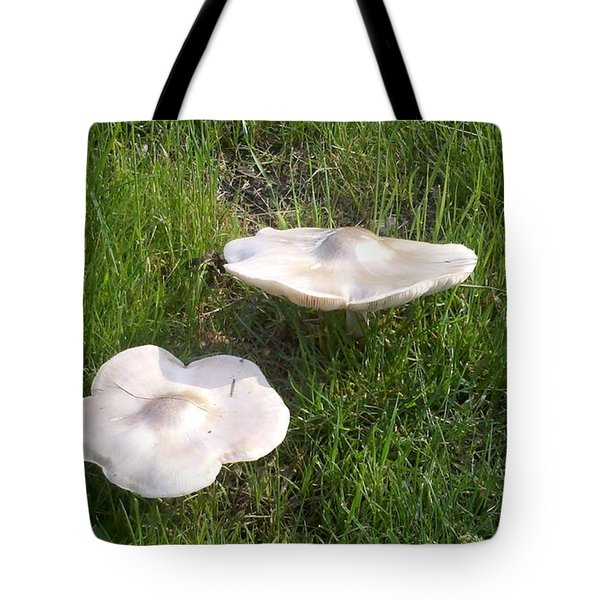 Floating Mushrooms Tote Bag