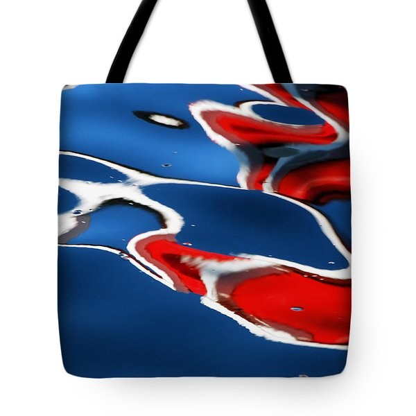 Floating On Blue 5 Tote Bag
