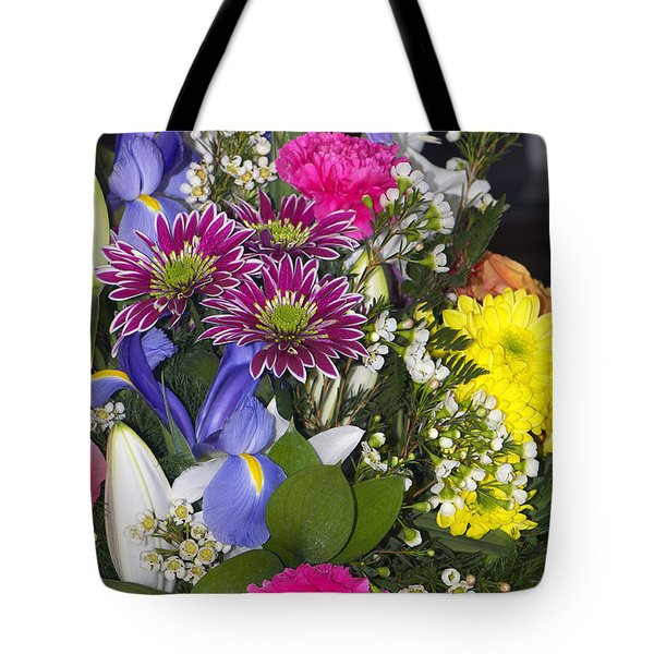 Floral Bouquet 2 Tote Bag by Sharon Talson