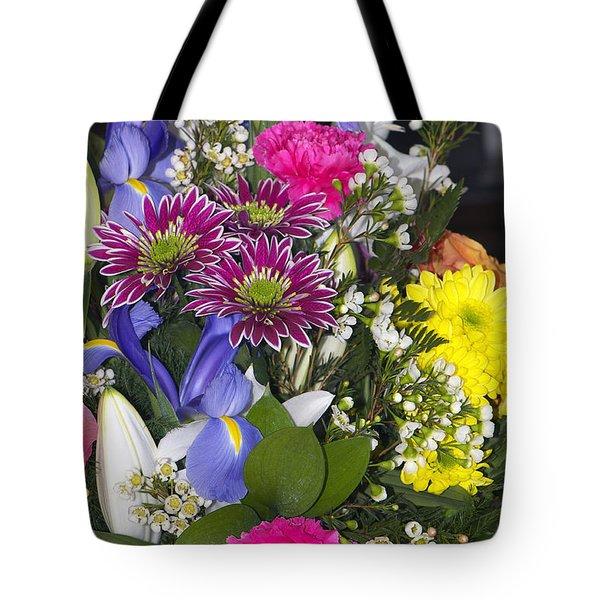 Floral Bouquet 2 Tote Bag