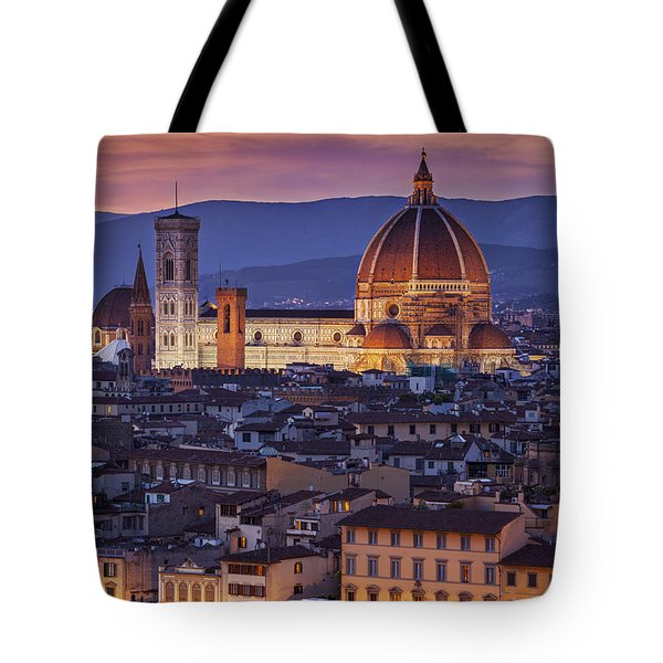 Tote Bag featuring the photograph Florence Duomo by Brian Jannsen