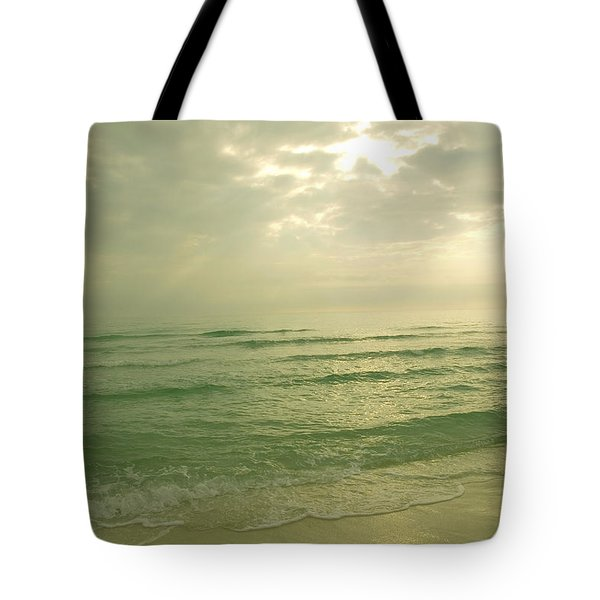 Tote Bag featuring the photograph Florida Beach by Charles Beeler